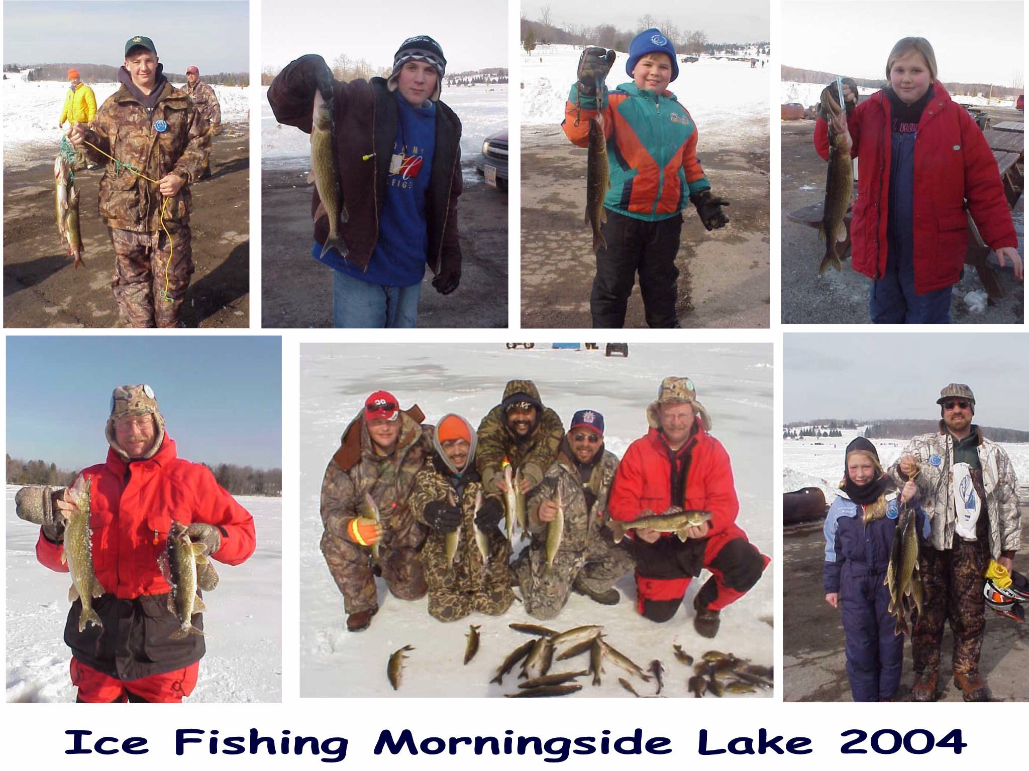 Hurleyville fire department ice fishing for Ice fishing ny