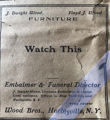 Hurleyville New York Sentinel